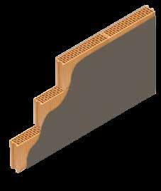 Кладка стены из керамических блоков KERAKAM 12