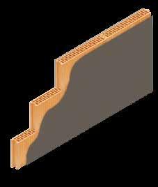 Кладка стены из керамических блоков KERAKAM 8